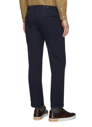 Back View - Click To Enlarge - BARENA - 'Rampin' cotton twill pants
