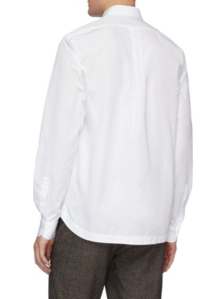 Back View - Click To Enlarge - BARENA - 'Pavan Bagio' half button shirt