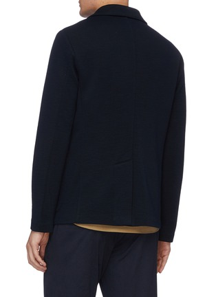 Back View - Click To Enlarge - BARENA - 'Torceo Rino' knit jacket