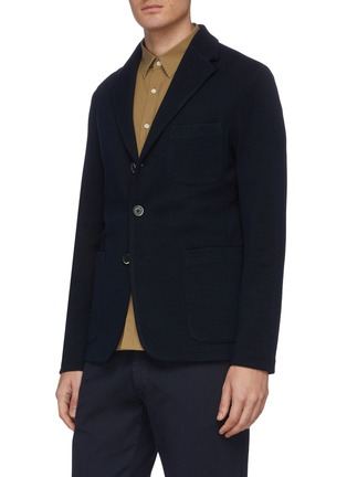 Front View - Click To Enlarge - BARENA - 'Torceo Rino' knit jacket