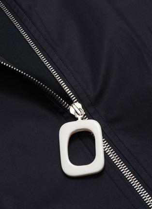 - JW ANDERSON - High neckband gathered sleeve bomber jacket