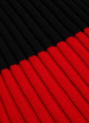 - JW ANDERSON - Colourblock merino wool rib sweater