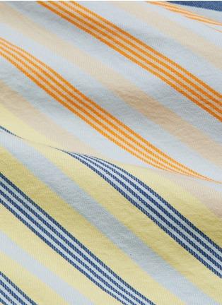 - JW ANDERSON - 'Parasol' ruffle stripe wrap skirt