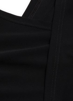 - JW ANDERSON - Sheer sleeve criss cross front top