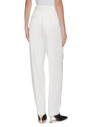 Back View - Click To Enlarge - JW ANDERSON - Belted wool tailored pants