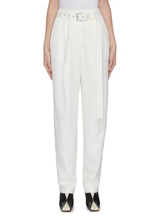 Main View - Click To Enlarge - JW ANDERSON - Belted wool tailored pants