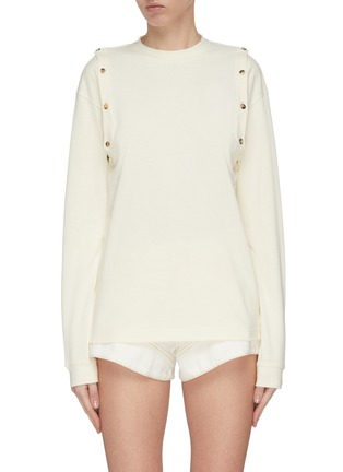 Main View - Click To Enlarge - JW ANDERSON - Shoulder placket top