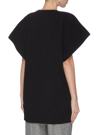 Back View - Click To Enlarge - JW ANDERSON - 'Kite' cape sleeve top