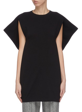 Main View - Click To Enlarge - JW ANDERSON - 'Kite' cape sleeve top