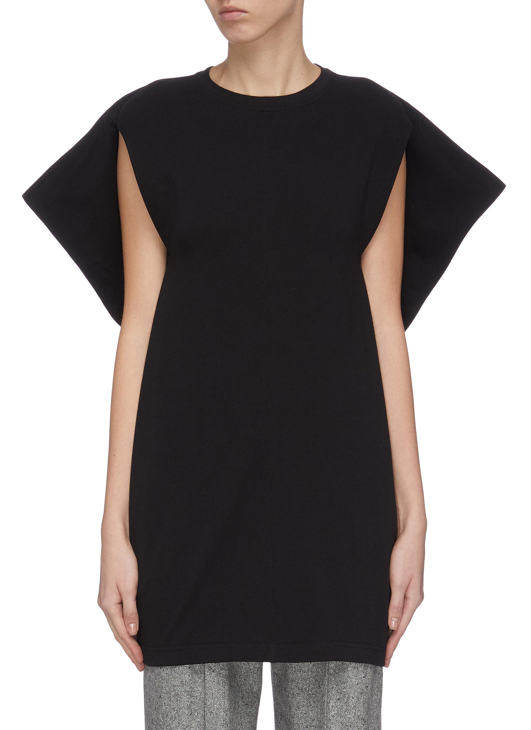 shop Jw Anderson 'Kite' cape sleeve top online