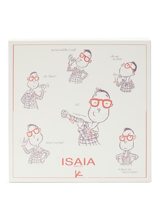 Figure View - Click To Enlarge - ISAIA - Gesture print T-shirt 4-pack set