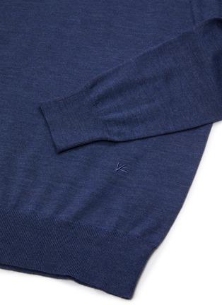 - ISAIA - Crew neck merino wool sweater
