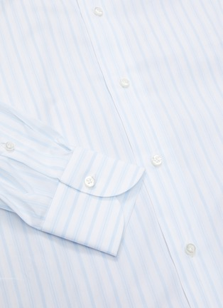 - ISAIA - 'Milano' stripe button down shirt