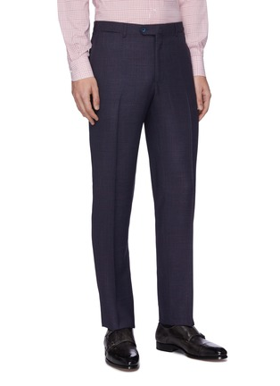 Detail View - Click To Enlarge - ISAIA - 'Gregorio' notch lapel wool-silk blend suit