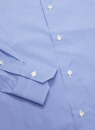 - ISAIA - 'Leuca' gingham button down shirt