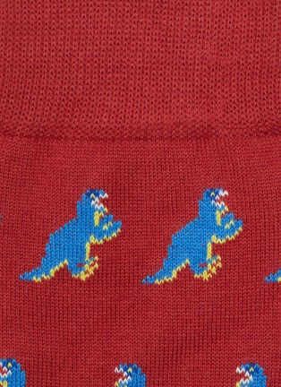 Detail View - Click To Enlarge - PAUL SMITH - Dinosaur print socks