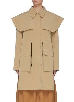 Main View - Click To Enlarge - FFIXXED STUDIOS - 'Utopia' Drizabone Parka Coat.