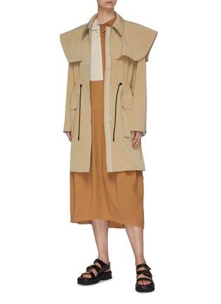 Figure View - Click To Enlarge - FFIXXED STUDIOS - 'Utopia' Drizabone Parka Coat.