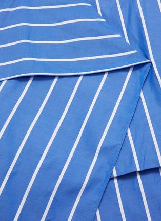 - FFIXXED STUDIOS - Asymmetric stripe panel dress
