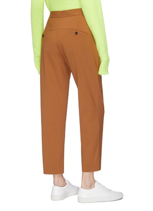 Back View - Click To Enlarge - FFIXXED STUDIOS - Drawstring darted pants