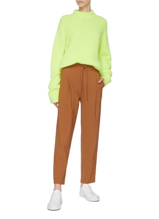 Figure View - Click To Enlarge - FFIXXED STUDIOS - Drawstring darted pants