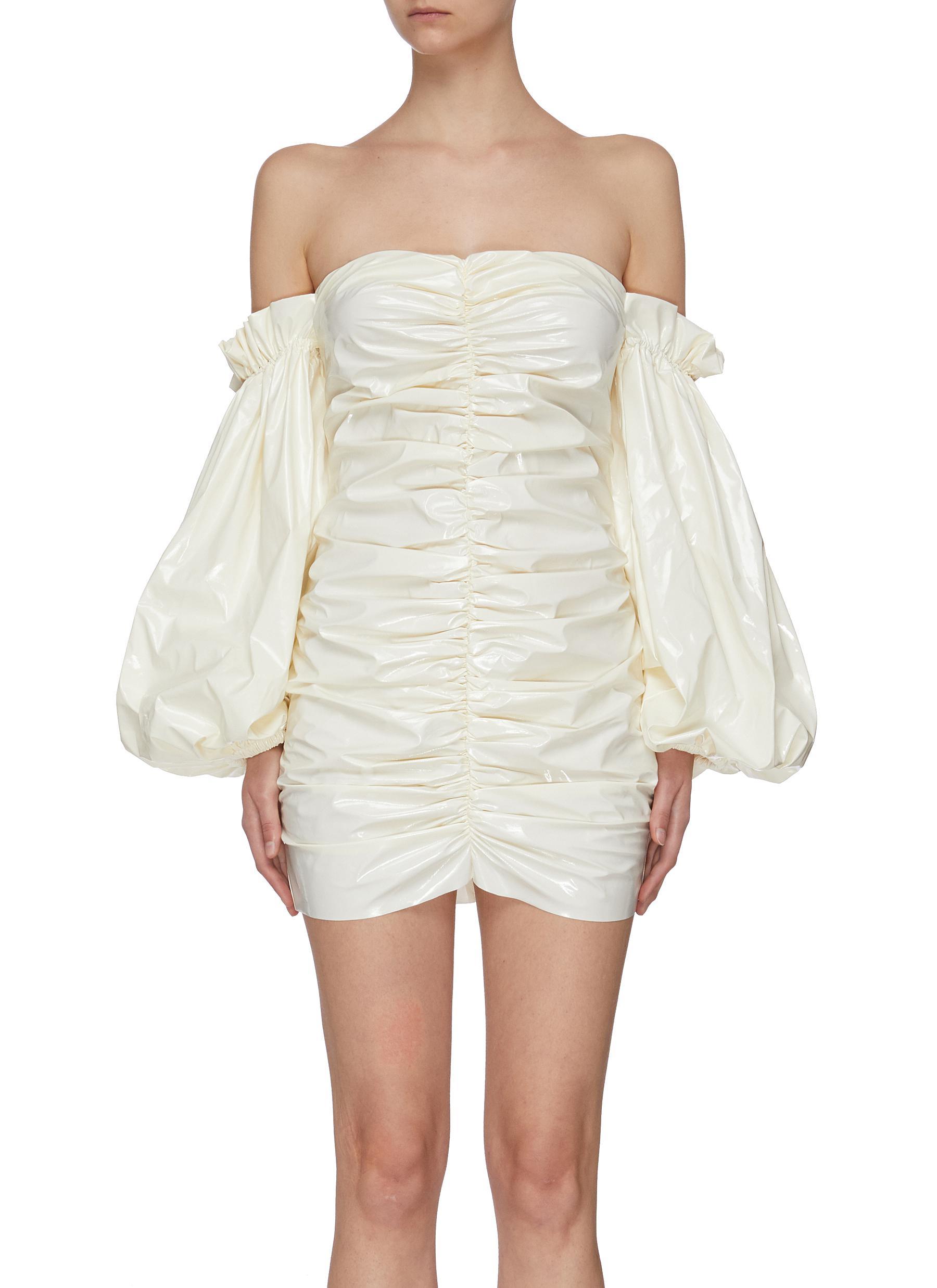 Buy Rotate Dresses 'Phoebe' gathered mini dress