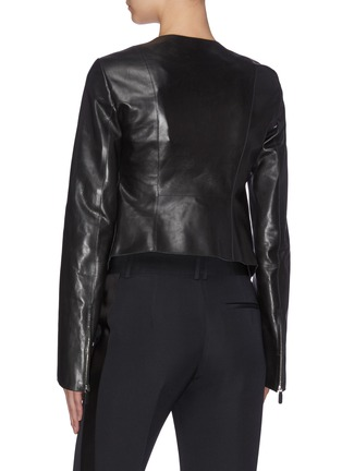 Back View - Click To Enlarge - THE ROW - 'Saori' leather jacket