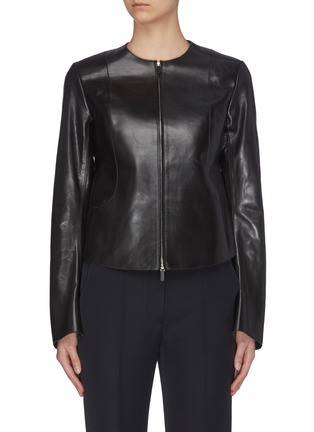 Main View - Click To Enlarge - THE ROW - 'Saori' leather jacket