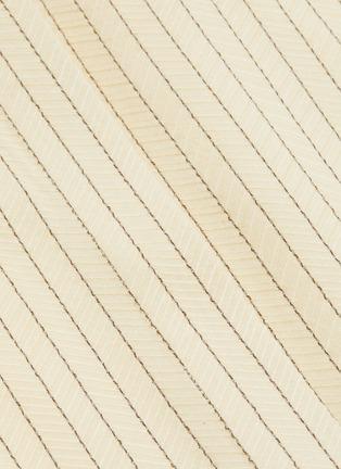 - THE ROW - 'Sonia' belted herringbone print shirt dress