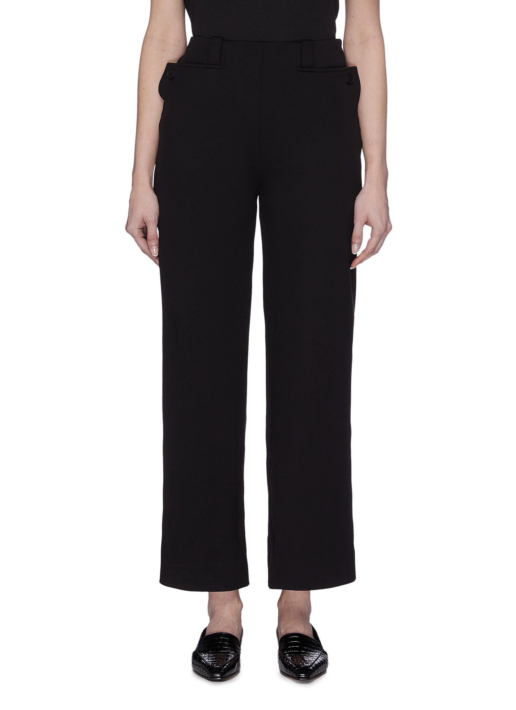 shop The Row 'Subira' Scuba Button Pocket Pants online