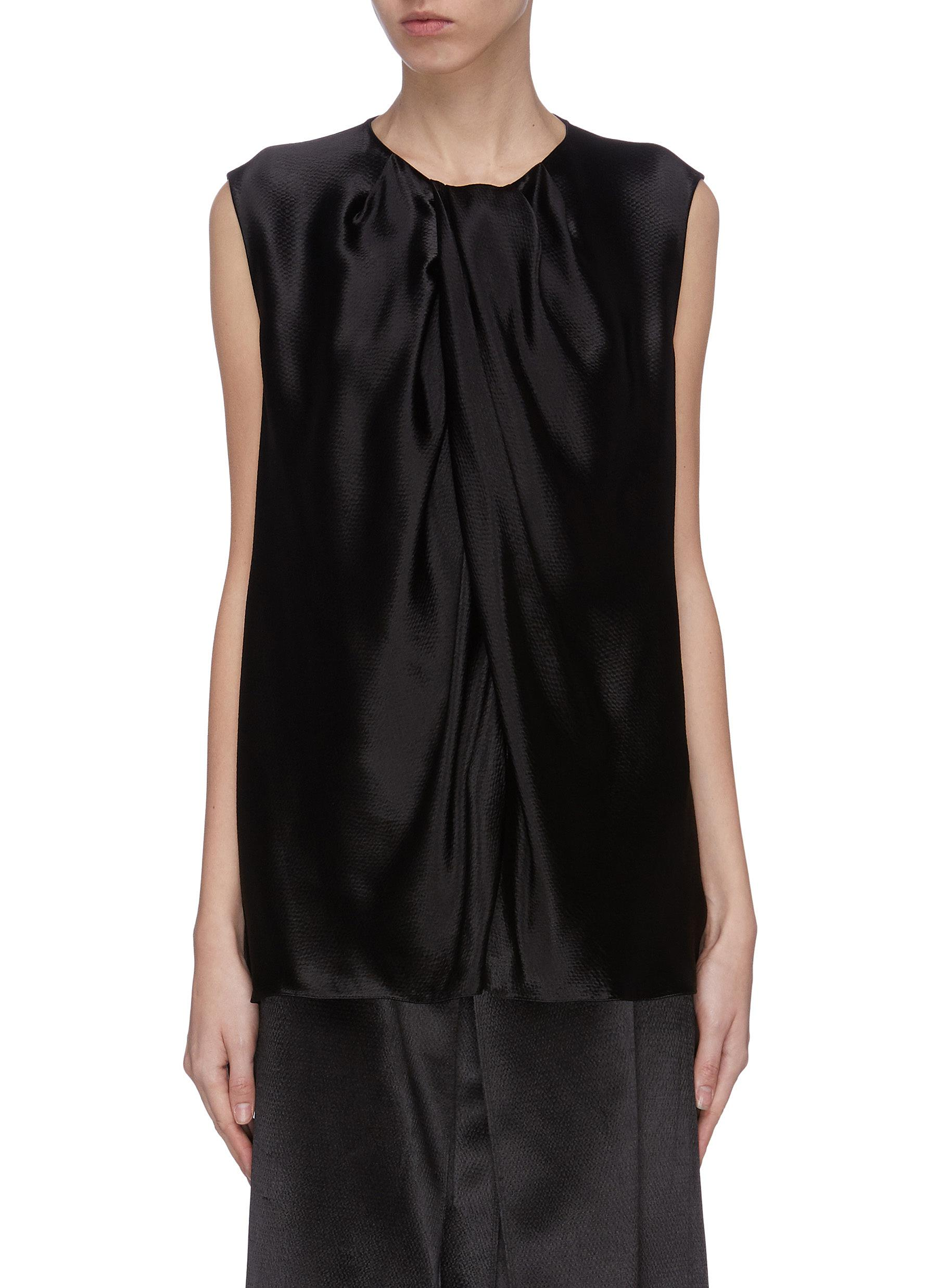 Buy The Row Tops 'Shira' organza top