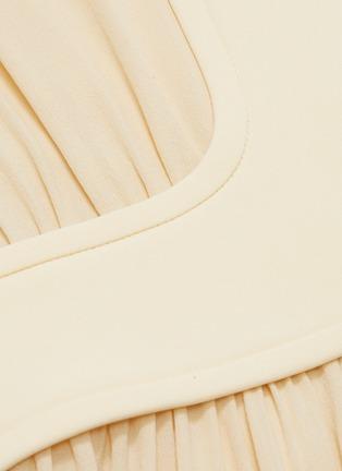 - THE ROW - 'Smith' gathered panel silk crepe dress
