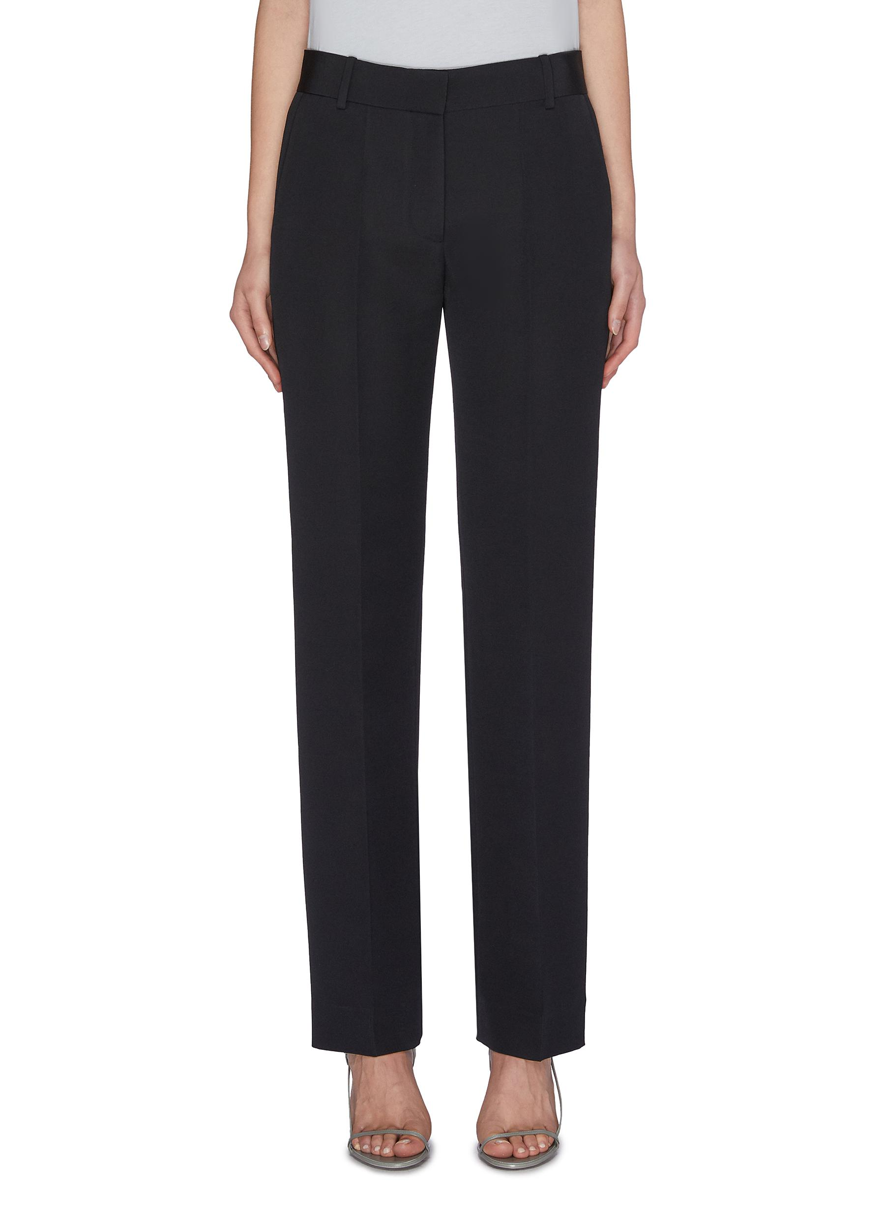 Buy The Row Pants & Shorts 'Tacome' wool-silk suiting pants