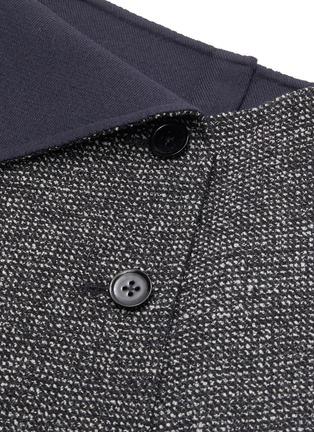 - THE ROW - 'Verna' asymmetric foldover button front midi skirt