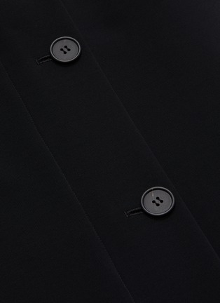 - THE ROW - 'Pillar' foldover button front midi skirt