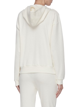 Back View - Click To Enlarge - THE ROW - 'Diea' hooded sweatshirt