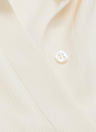 - THE ROW - 'Cody' enlarged cuff silk shirt