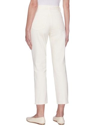 Back View - Click To Enlarge - THE ROW - 'Ash' Crop Jeans