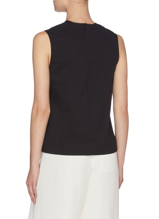 Back View - Click To Enlarge - THE ROW - 'Shellane' scuba sleeveless top