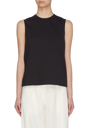 Main View - Click To Enlarge - THE ROW - 'Shellane' scuba sleeveless top