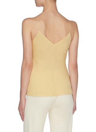 Back View - Click To Enlarge - THE ROW - 'Eda' silk georgette V-neck camisole top