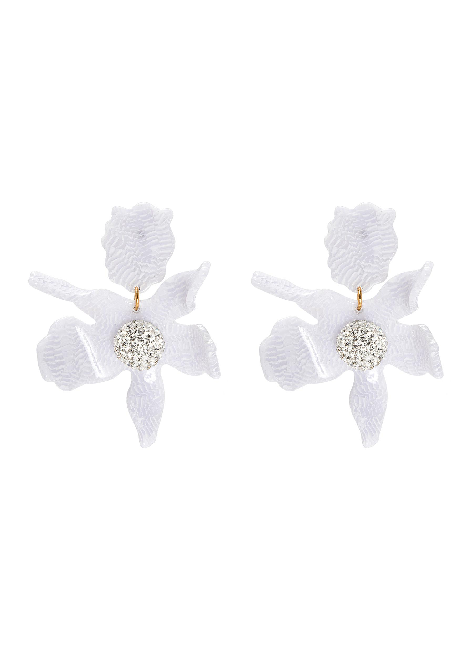Lele Sadoughi 'Crystal' lily earrings