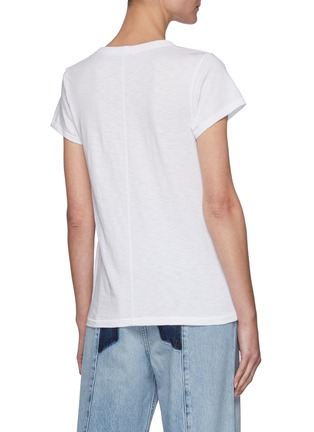 Back View - Click To Enlarge - RAG & BONE/JEAN - The Tee' Crewneck Cotton T-shirt