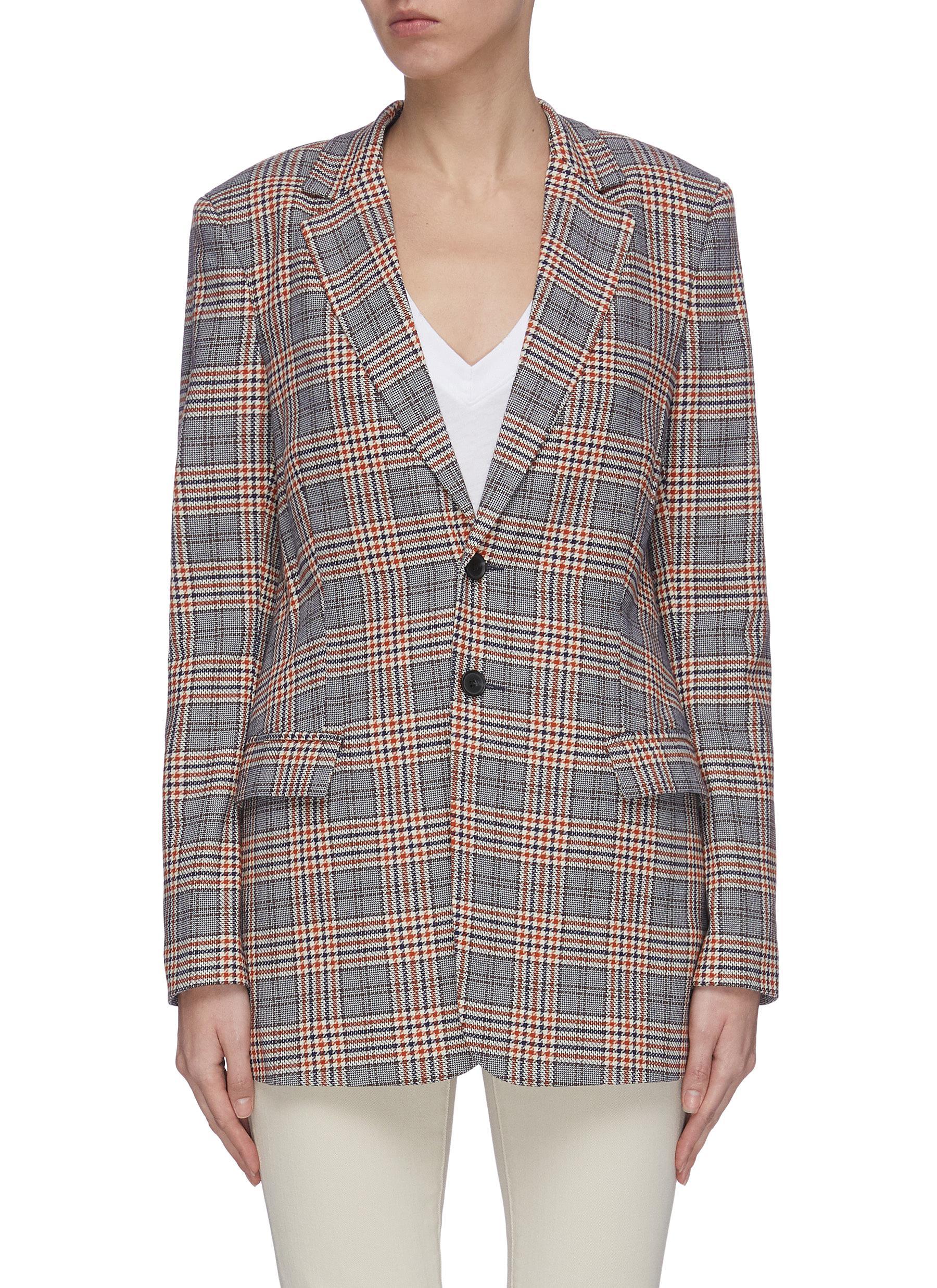 Buy Current/Elliott Blazers 'The Calla' check blazer