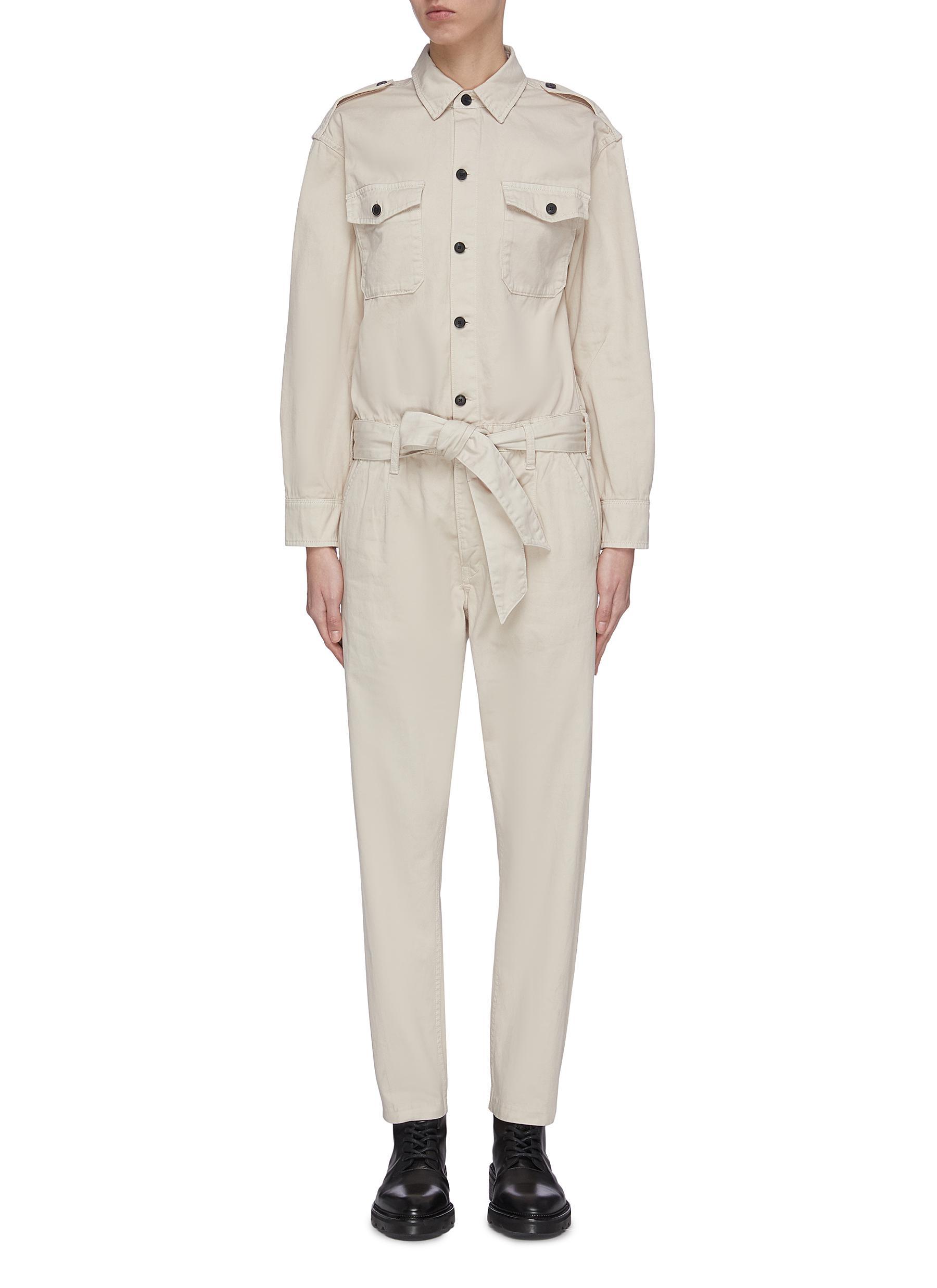 shop Current/Elliott 'The Mele' belted jumpsuit online