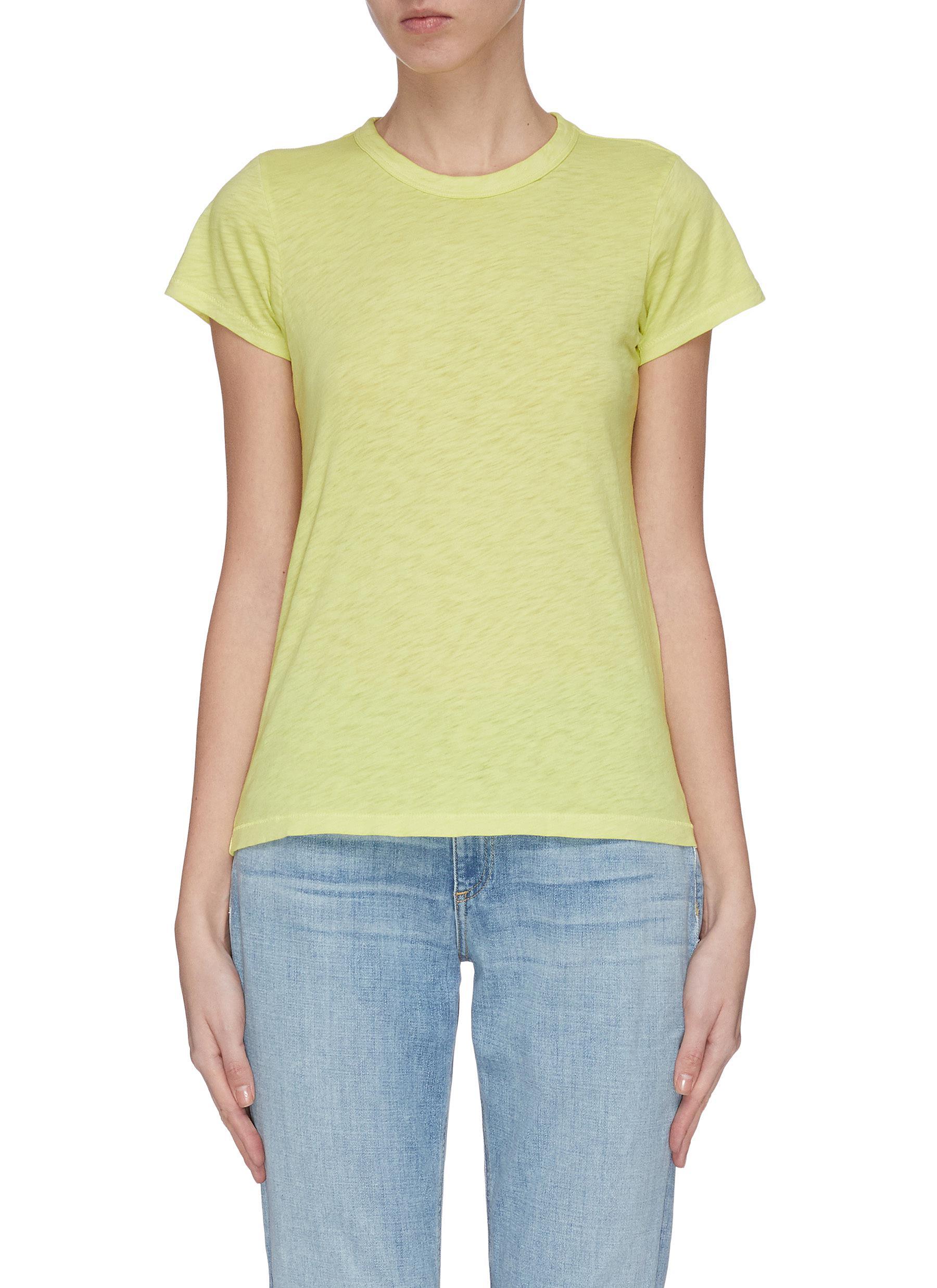 shop Rag & Bone/Jean 'The Tee' crewneck T-shirt online