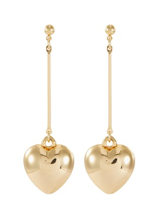Main View - Click To Enlarge - KENNETH JAY LANE - Heart shaped drop earrings