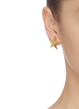 Front View - Click To Enlarge - KENNETH JAY LANE - Star stud earrings