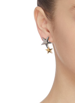 Figure View - Click To Enlarge - KENNETH JAY LANE - Star stud earrings