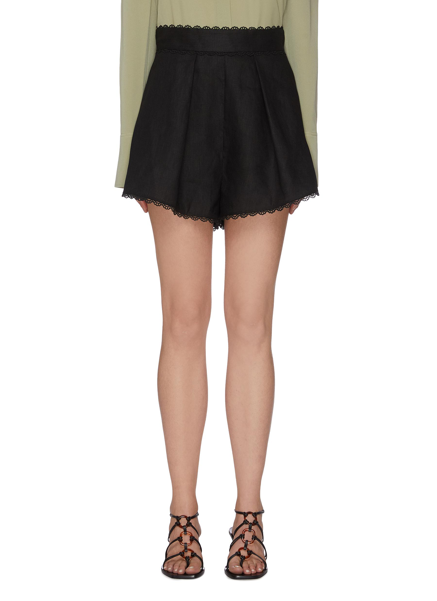 shop Zimmermann 'Kirra' hem trim shorts online